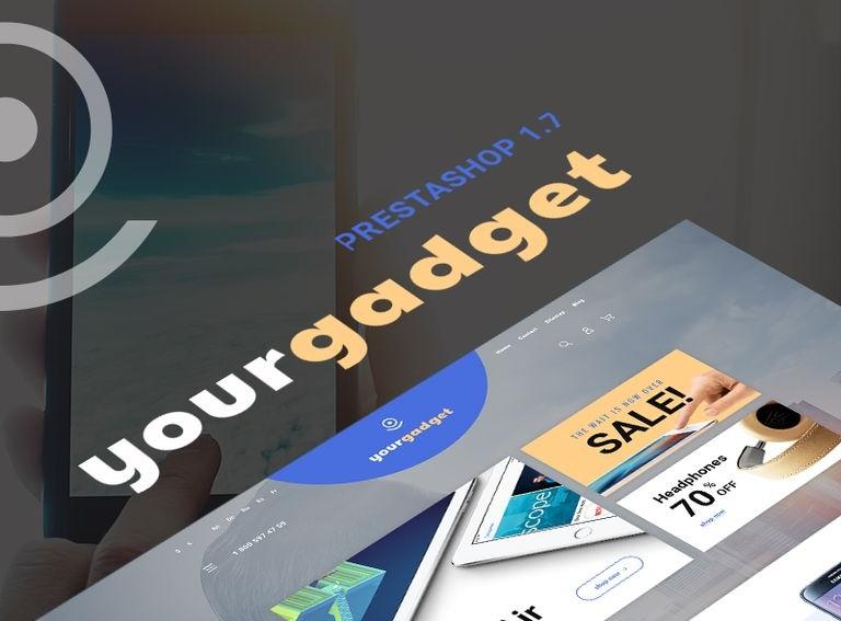 Responsywny szablon PrestaShop #67825 na temat: sklep elektroniczny
