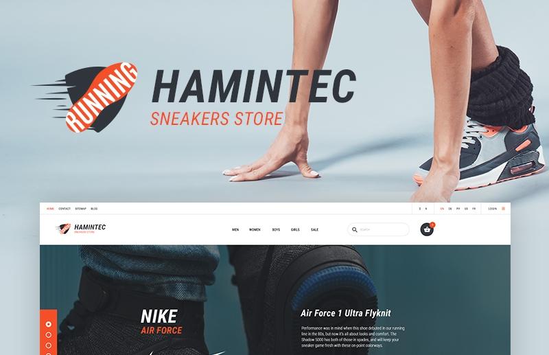 Responsywny szablon PrestaShop #66078 na temat: sklep obuwniczy