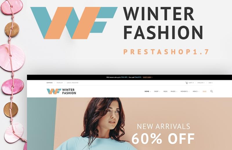 Responsywny szablon PrestaShop Winter Fashion - Fashionable Winter Wear