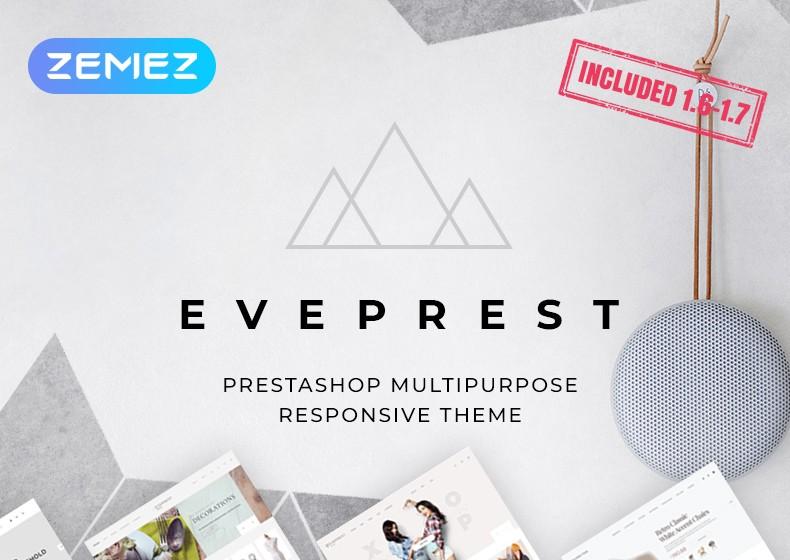 Eveprest - uniwersalny szablon PrestaShop