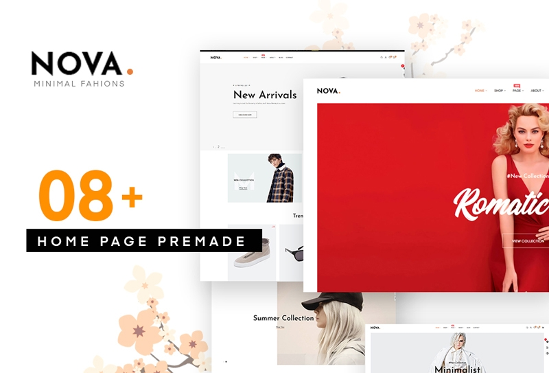 Szablon PrestaShop Nova - Fashion Prestashop 1.7.5 #77808